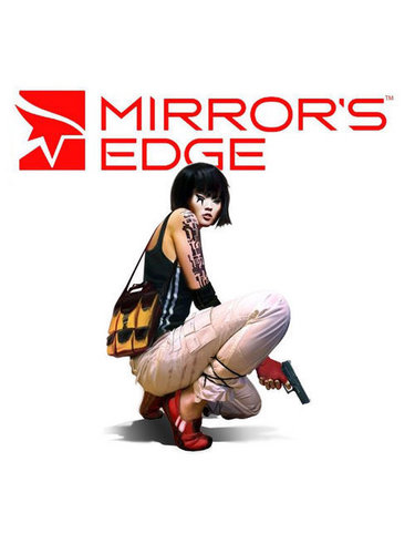 Mirror's Edge hình nền probably with a hip boot, a wicket, and a well dressed person called Faith Mirror's Edge