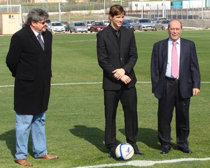 Fernando Torres recibe medalla de oro en Fuenlabrada