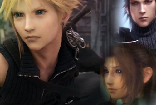 Final कल्पना VII वॉलपेपर containing a portrait called FinalFanTasy VII <3