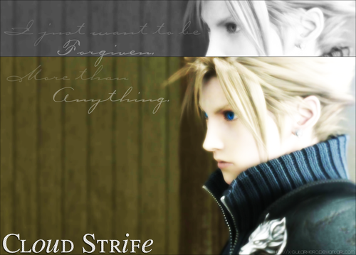 Final fantasy VII wallpaper possibly containing a portrait called FinalFanTasy VII <3