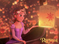 Floating Lights - disney-females wallpaper