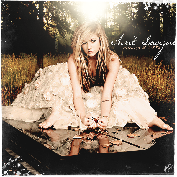 Avril Lavigne images Goodbye Lullaby [FanMade Album Cover] wallpaper ...