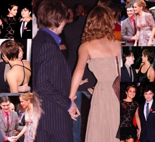 Harry and Hermione wallpaper with a bridesmaid titled Harry and Hermione♥