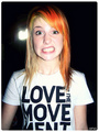 Hayley Williams for TWLOHA - to-write-love-on-her-arms photo
