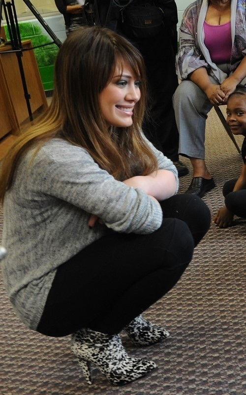 Hilary @ Blessings in a Backpack Event - hilary-duff photo