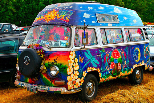 Hippie Vans wallpaper probably containing a van called Hippie Vans