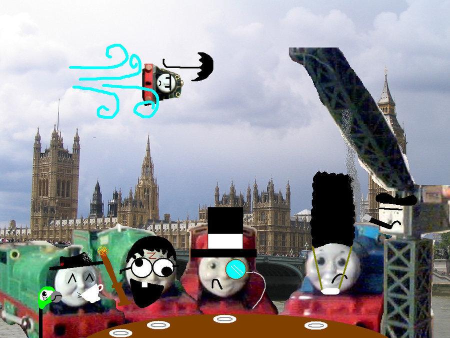 I See Londra i See idiots