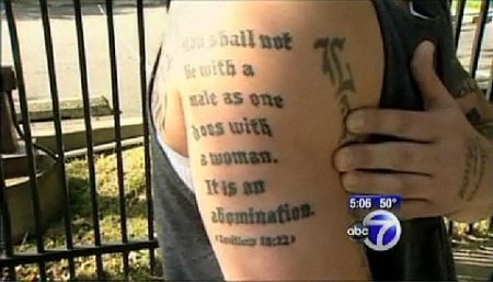 Ironic Tattoo