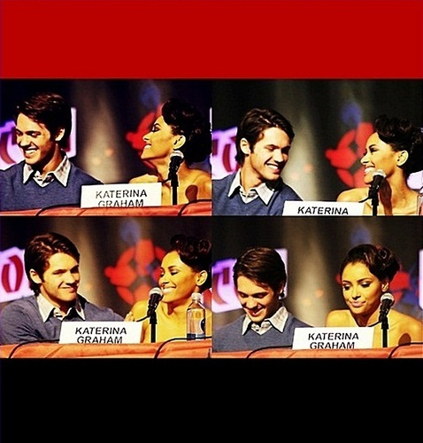 Katerina Graham wallpaper entitled Katerina Graham & Steven R. McQueen