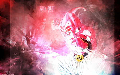 dragon ball z wallpaper titled Kid Buu