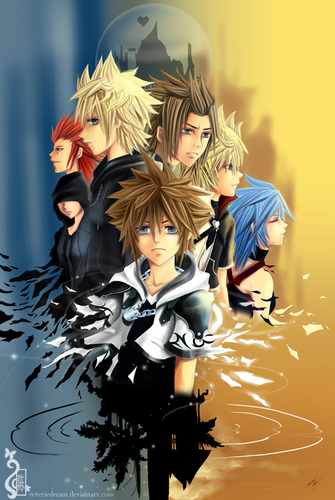 Kingdom Hearts 2 wallpaper titled Kingdom Hearts 2