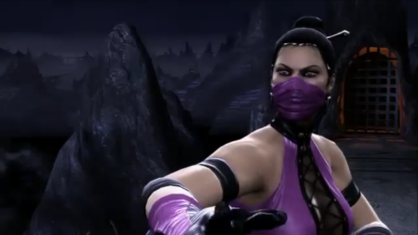 mortal kombat mileena face. girlfriend mortal kombat