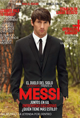 Lionel Messi GQ