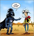 Luke I'm your father - darth-vader fan art