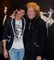 MIKA with Brian May