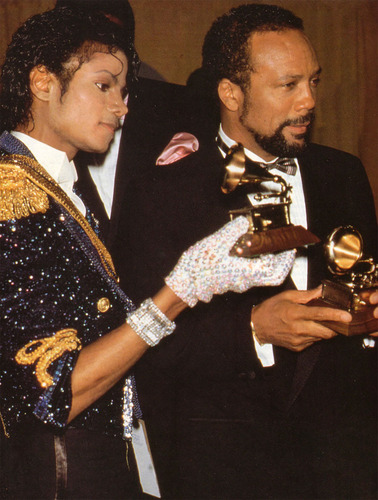 MJ at grammy awards