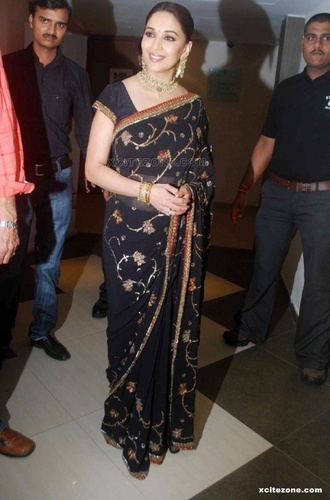Madhuri Dixit in saree - madhuri-dixit Photo