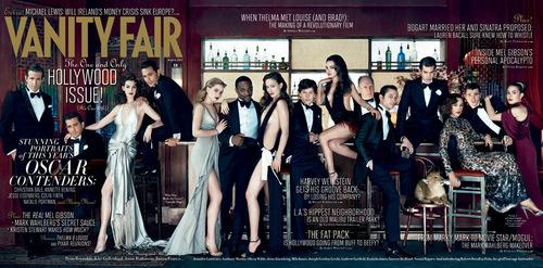 Magazine scans: Vanity Fair - March 2011