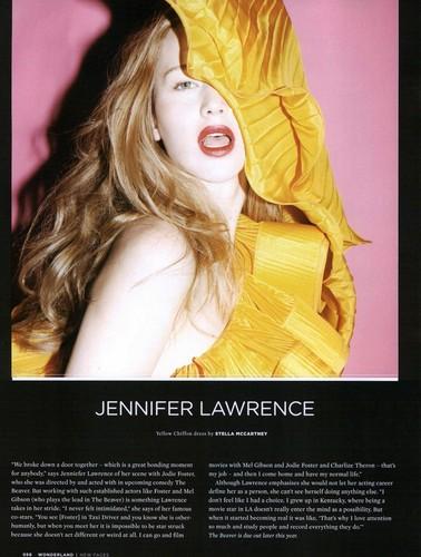 Magazine scans: Wonderland - May 2010