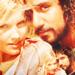 Maggie Grace & Naveen Andrews