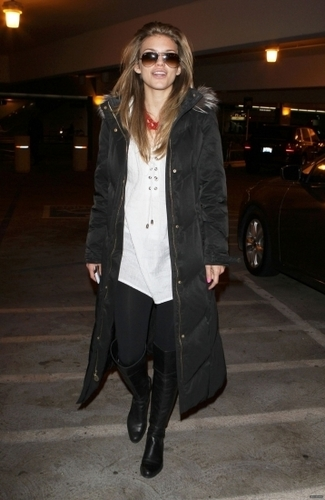March 17th: AnnaLynne McCord Arriving At LAX Airport