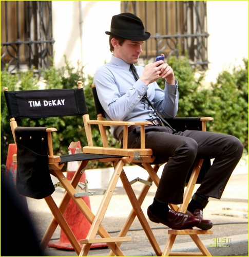 Matt Bomer: &#39;White Collar&#39; Shoot with Tim DeKay - matt-bomer Photo