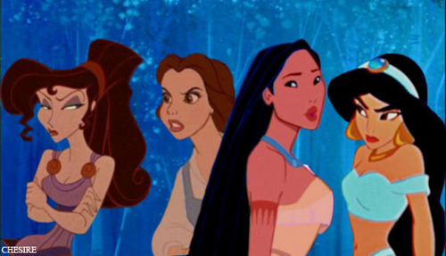 Meg/Belle/Pocahontas/Jasmine