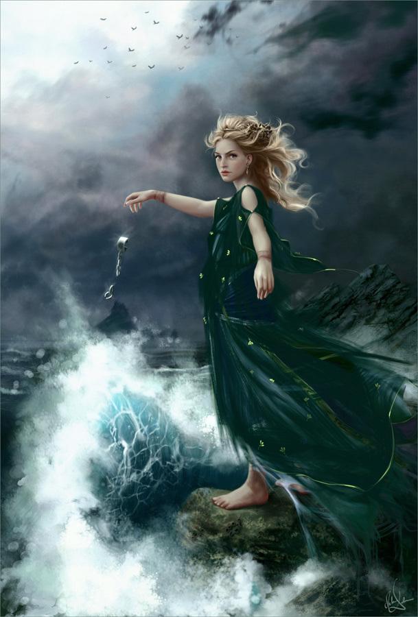 Fantasy Art images Mel... Fantasy Mermaids On Rocks