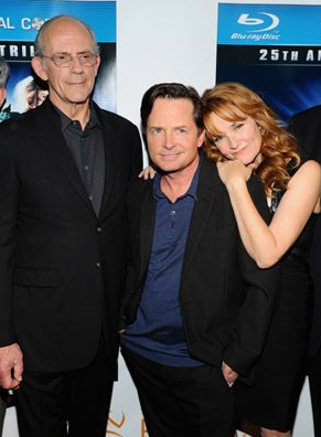 Michael with Lea Thompson and Christopher Lloyd - michael-j-fox Photo