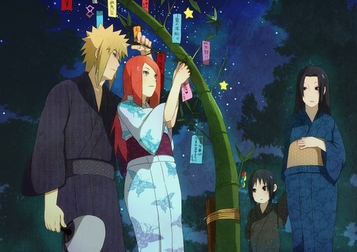 Minato Namikaze images Minato & Kushina at festival  wallpaper and background photos