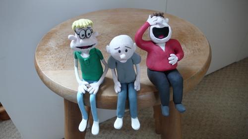 My Ricky, Karl and steve Models