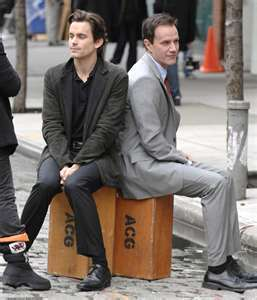 Neil &Peter - white-collar Photo