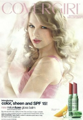 Taylor Swift Cover Girl on Taylor Swift New Taylor Swift Cover Girl Photo From A Scan In A