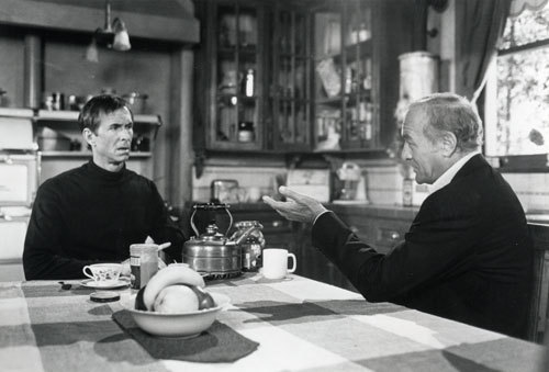 Norman Bates and Dr. Raymond