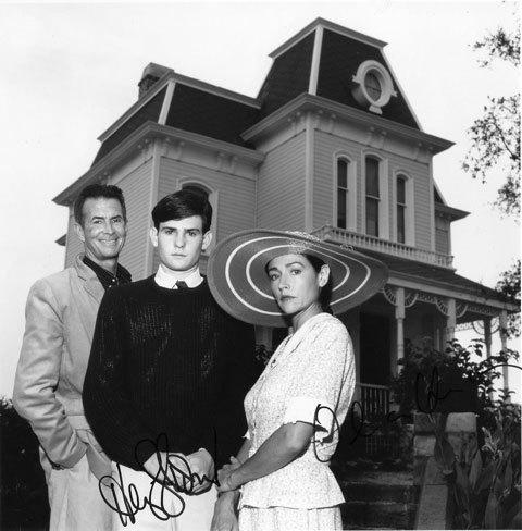 Norman Bates and Mrs. Bates