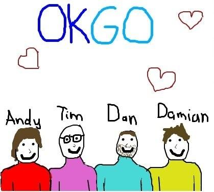 OK Go tagahanga Art