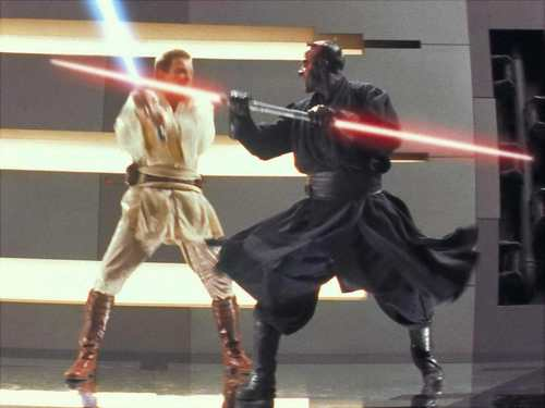 Obi-Wan vs Darth Maul