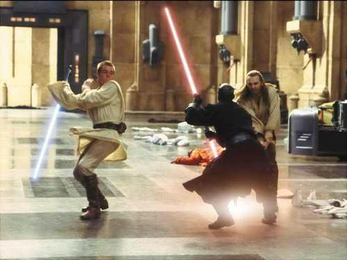 Obi-Wan vs Darth Maul