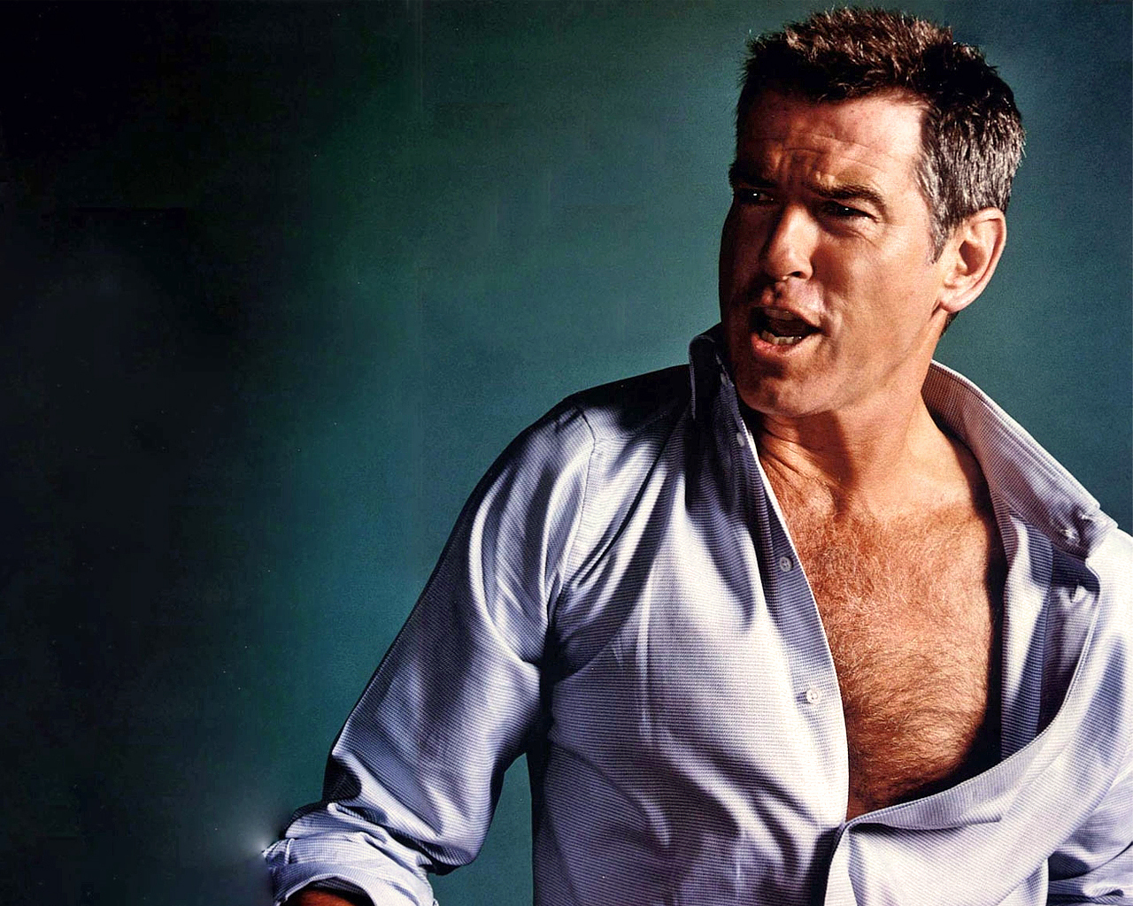Nude pierce brosnan