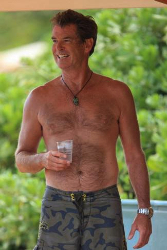 Hairy nude pierce brosnan for that