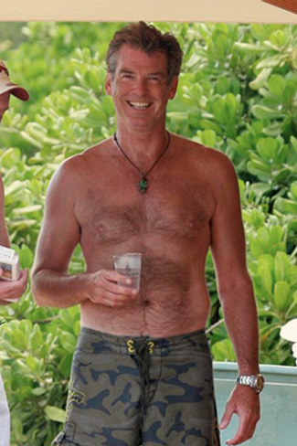 PIERCE BROSNAN SHIRTLESS SEXY 2.