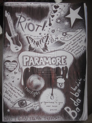 Paramore doodle thing
