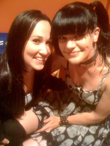 Pauley Perrette wallpaper probably containing a portrait entitled Pauley & Meredith Eaton