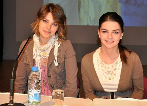 Pelin Karahan and Asli Enver