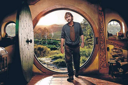 Peter Jackson in Bag End
