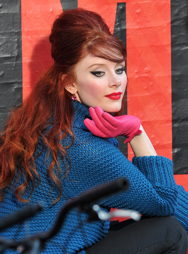 Photos of Bryce Dallas for Kate Spade in SoHo