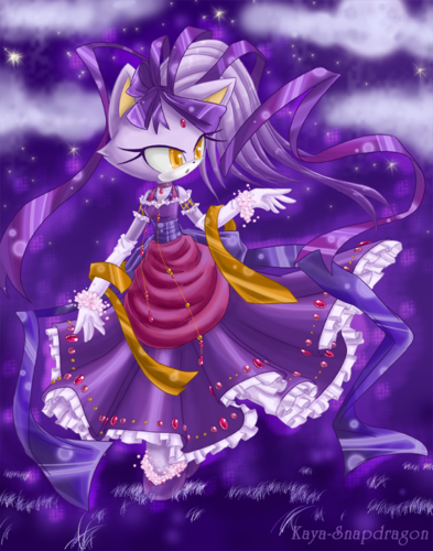 Blaze the Cat 바탕화면 probably containing 아니메 called Princess Blaze
