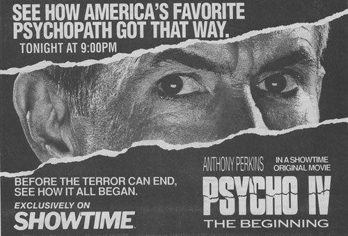 Psycho IV: The Beginning press coverage