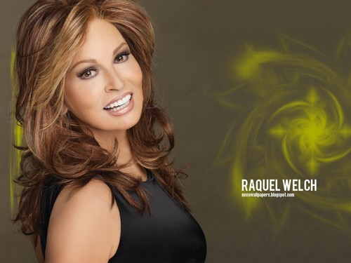 Raquel Welch wallpaper containing attractiveness and a portrait called Raquel Welch