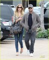 Rosie Huntington-Whiteley: Shopping Day with Jason Statham! - jason-statham photo
